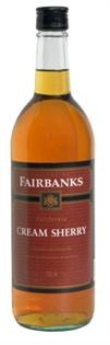 Fairbanks Cream Sherry 750ml - Case of 12